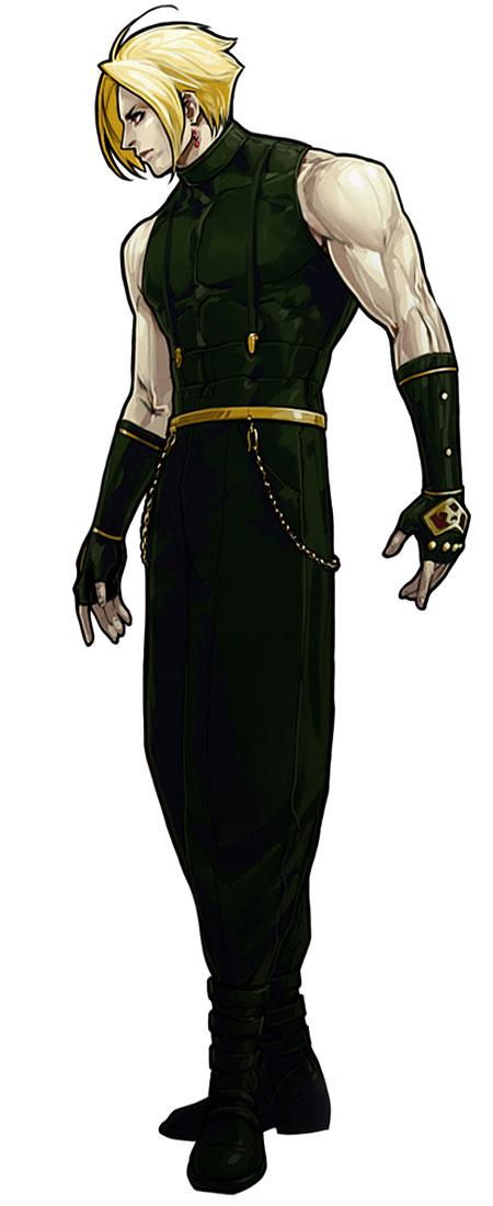 Character Design King Of Fighters : Adelheid rose bernstein