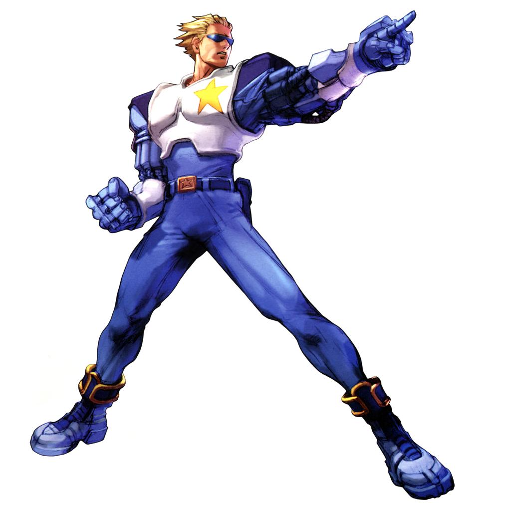 Captain N Cartoon Characters : Captain commando