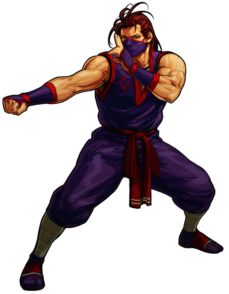 Eiji kisaragi art of fighting king of fighters - King of fighters characters pictures ...