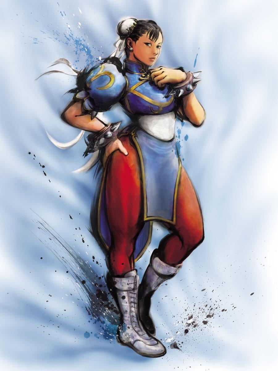 Street Fighter Characters Chun Li