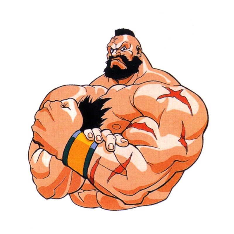 Zangief Street Fighter Fighters Generation Art Gallery Page 2