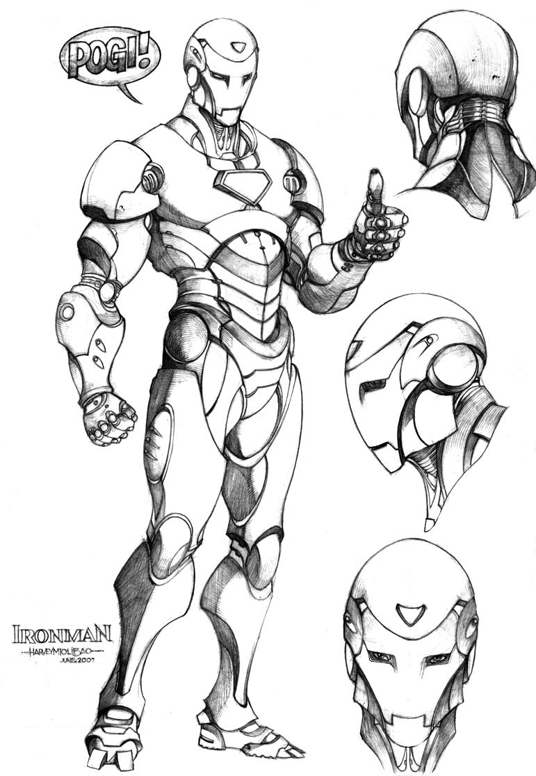 Iron man for Art et decoration pdf