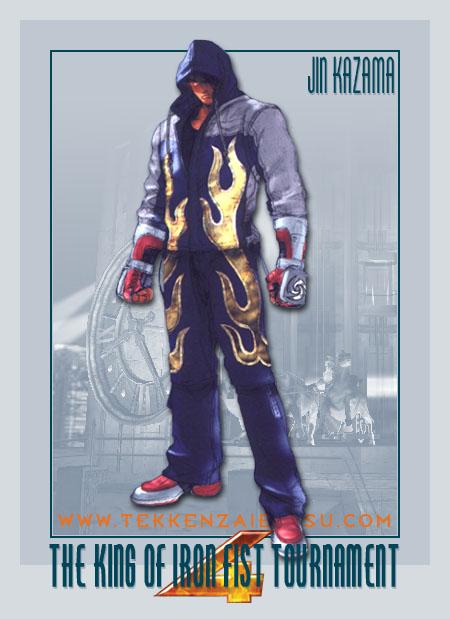 Jin Kazama Tekken