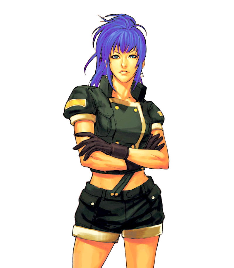 Leona Heidern The King Of Fighters