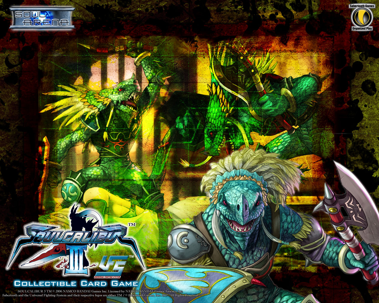 Lizardman Aeon Calcos Soul Calibur