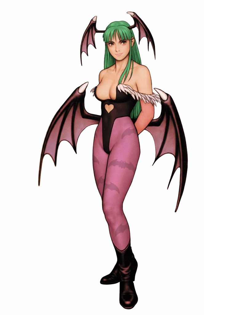 morrigan aensland  darkstalkers    marvel vs  capcom