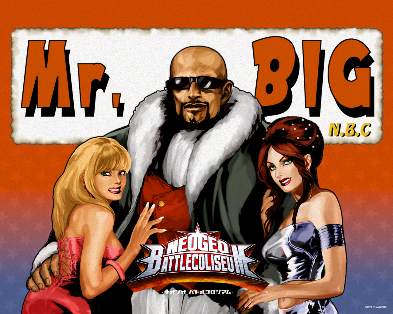 Mr Big Art Of Fighting King Of Fighters