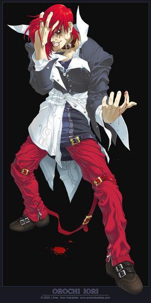 Orochi Iori Wild Iori The King Of Fighters