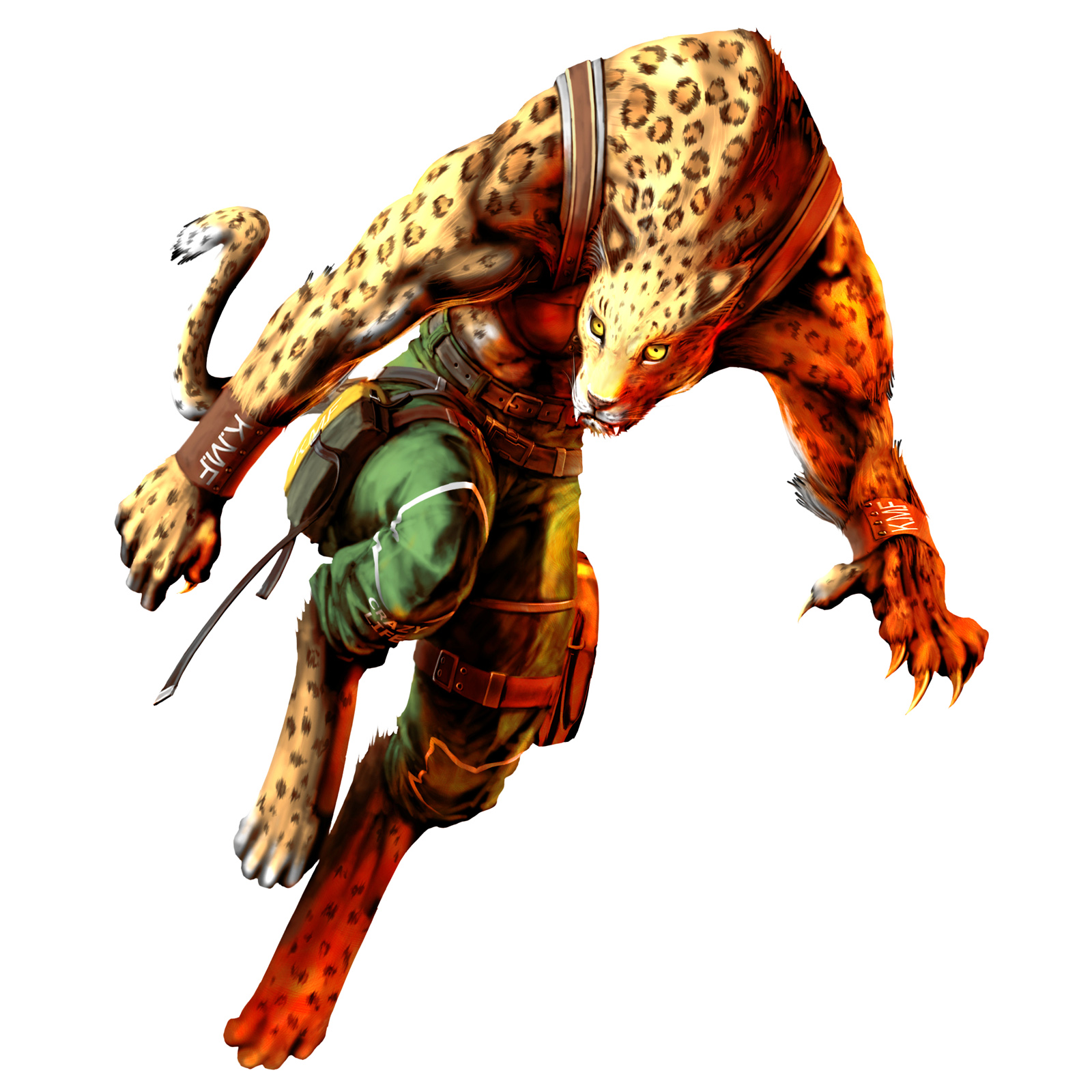 Shina / Marvel (Bloody Roar