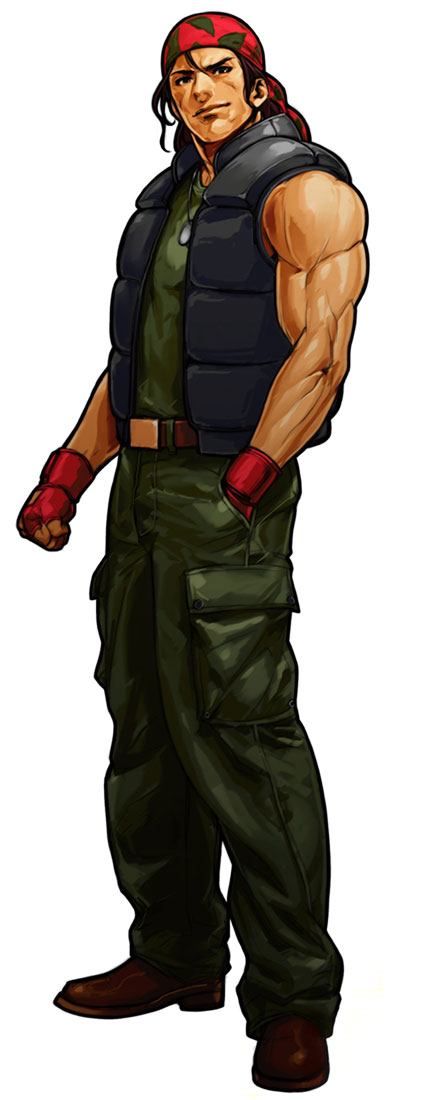 Ralf Jones The King Of Fighters