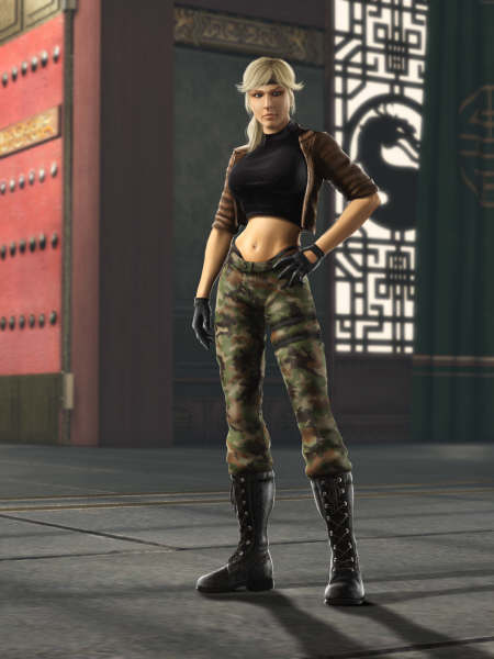 Sonya Blade (Mortal Kombat)