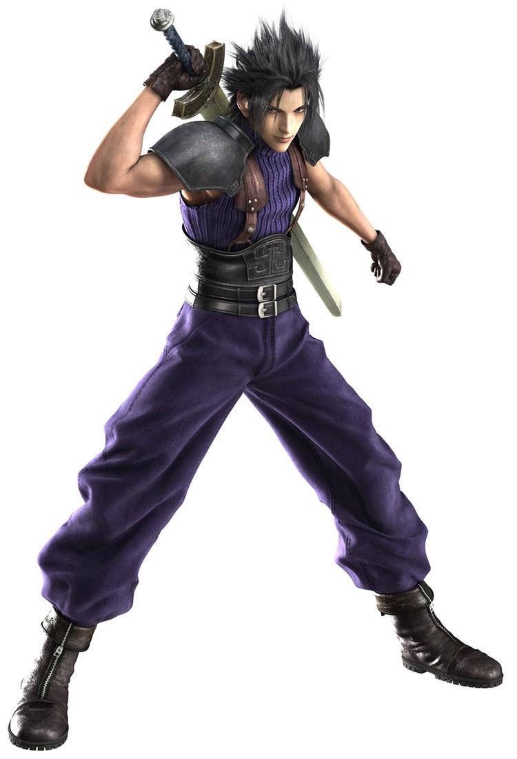 Final Fantasy 7 Anime Characters : Zack fair ehrgeiz final fantasy