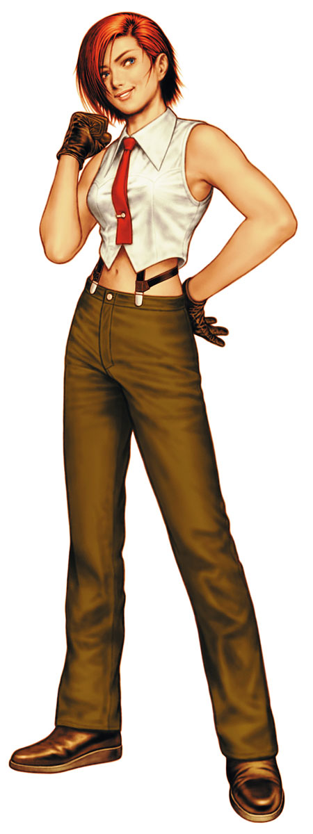 Character Design King Of Fighters : Vanessa king of fighters