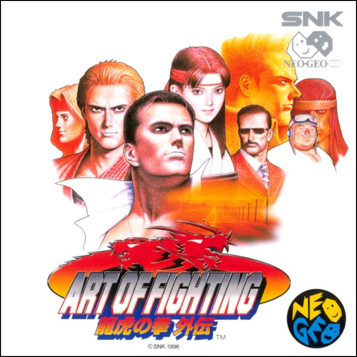 Art Of Fighting 3 Snk Official Artwork