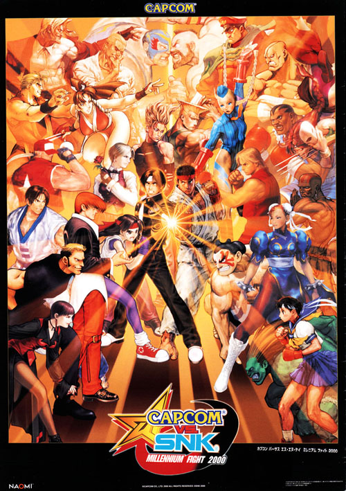 capcom vs snk millennium fight 2000 tfg review art