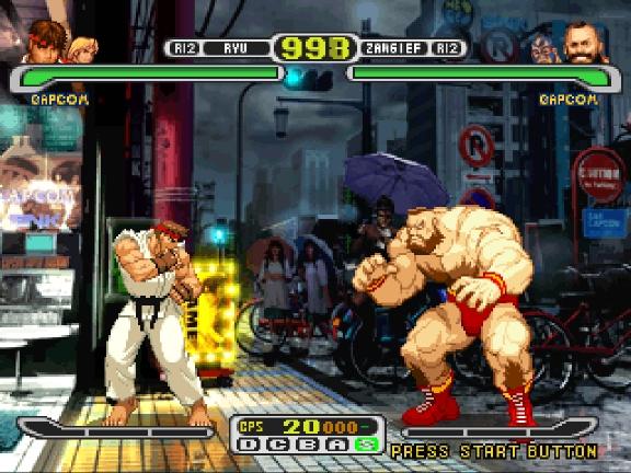 CAPCOM VS SNK PSP