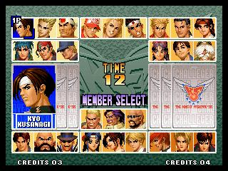 The King Of Fighters 96 Tfg Review Art Gallery