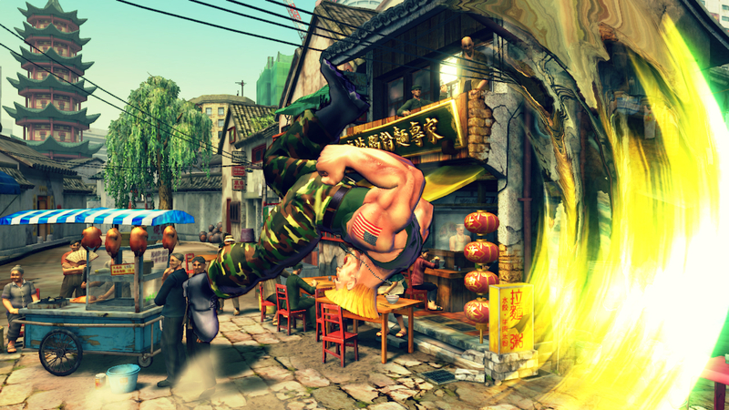Street Fighter 4 - TFG Review / Artwork Gallery