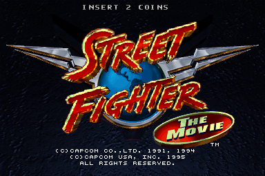 Street Fighter The Movie Arcade Saturn Ps1 Tfg Review