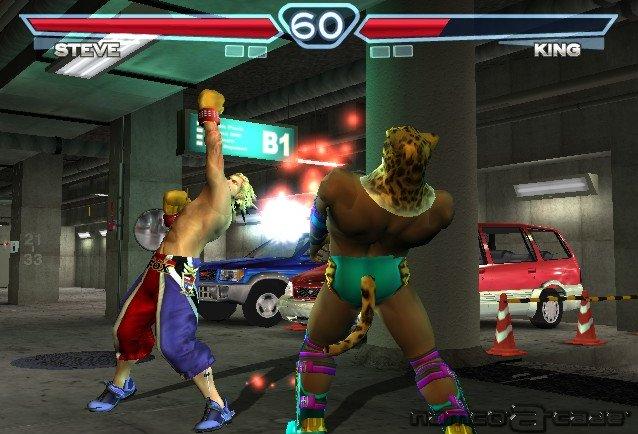 Tekken 4 Arcade Playstation 2 Screenshots