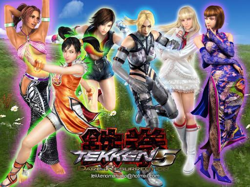 all tekken 5 characters