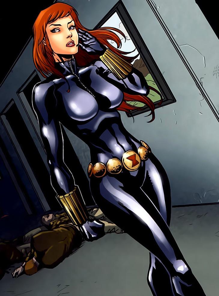 Marvel Girls Nude