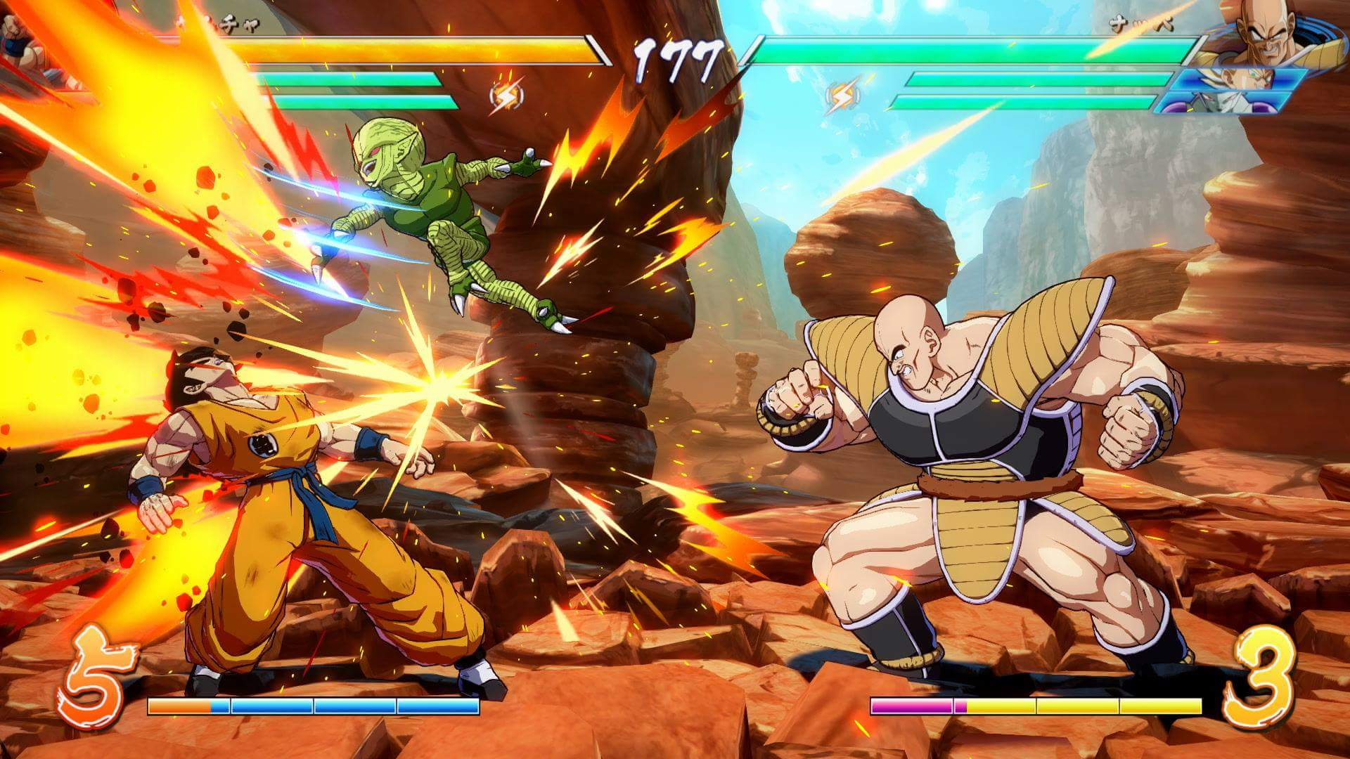 Hasil gambar untuk gambar game dragon ball fighter z