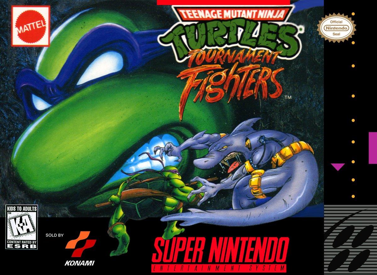 Teenage Mutant Ninja Turtles Tournament Fighters Tfg Review Art Gallery