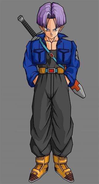 future trunks dragon ball fighterz