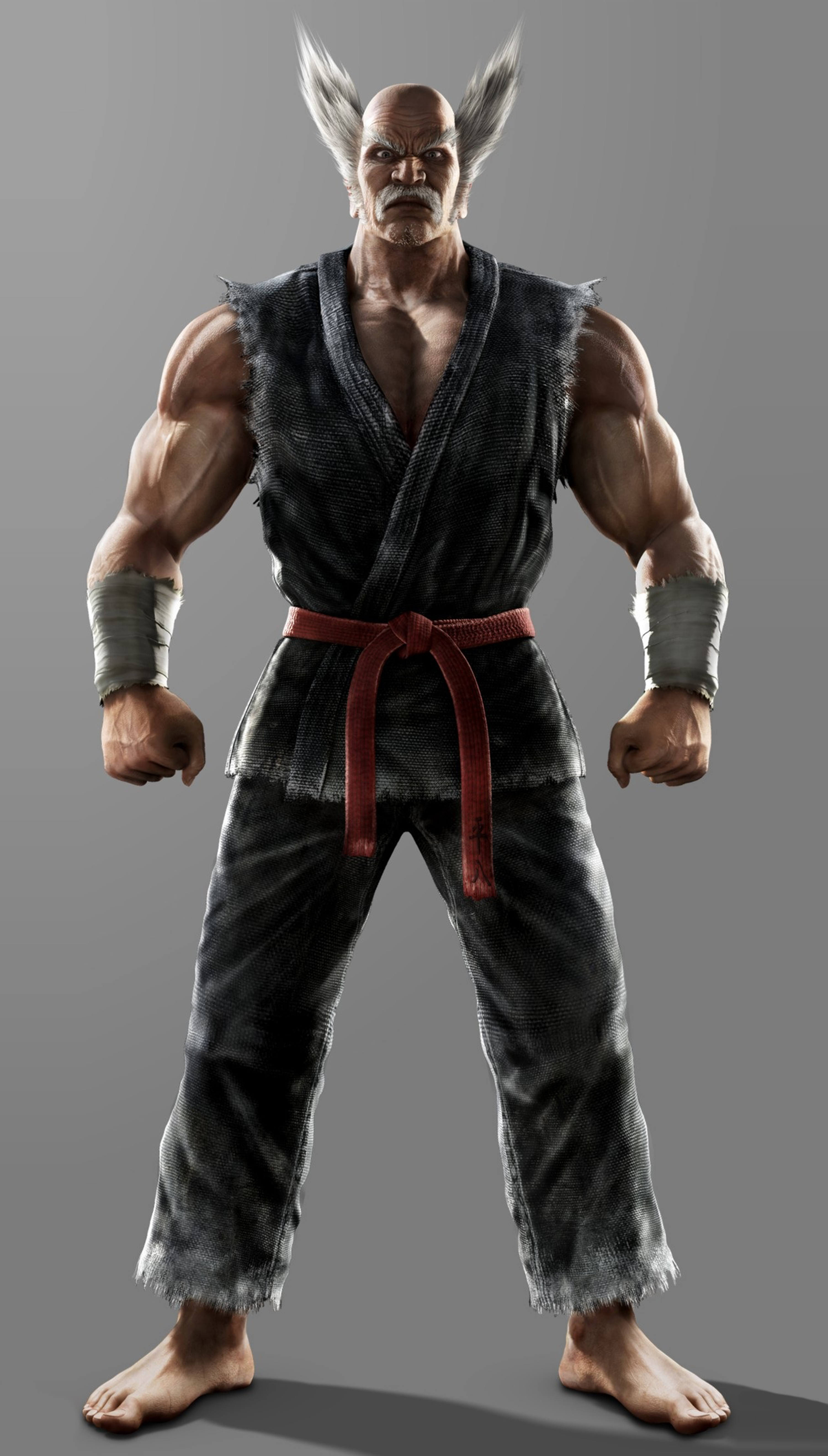 heihachi mishima tekken art gallery page 2 the fighters generation
