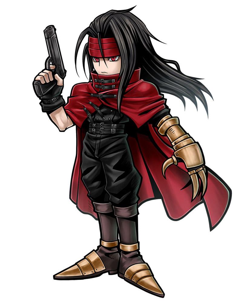 ... Vincent Valentine Dissidia Final Fantasy Opera Omnia (