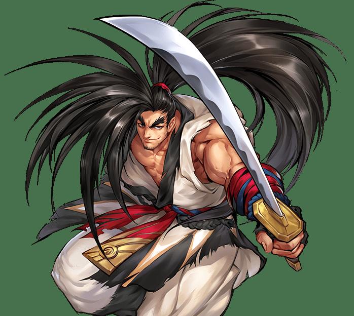 ♕ SPIRIT BRINGERS: EMPYREAN REALM. (SAGA DE DENEB - GRAN TORNEO) - Página 9 Haohmaru-samuraishodown4-remake-artwork2018