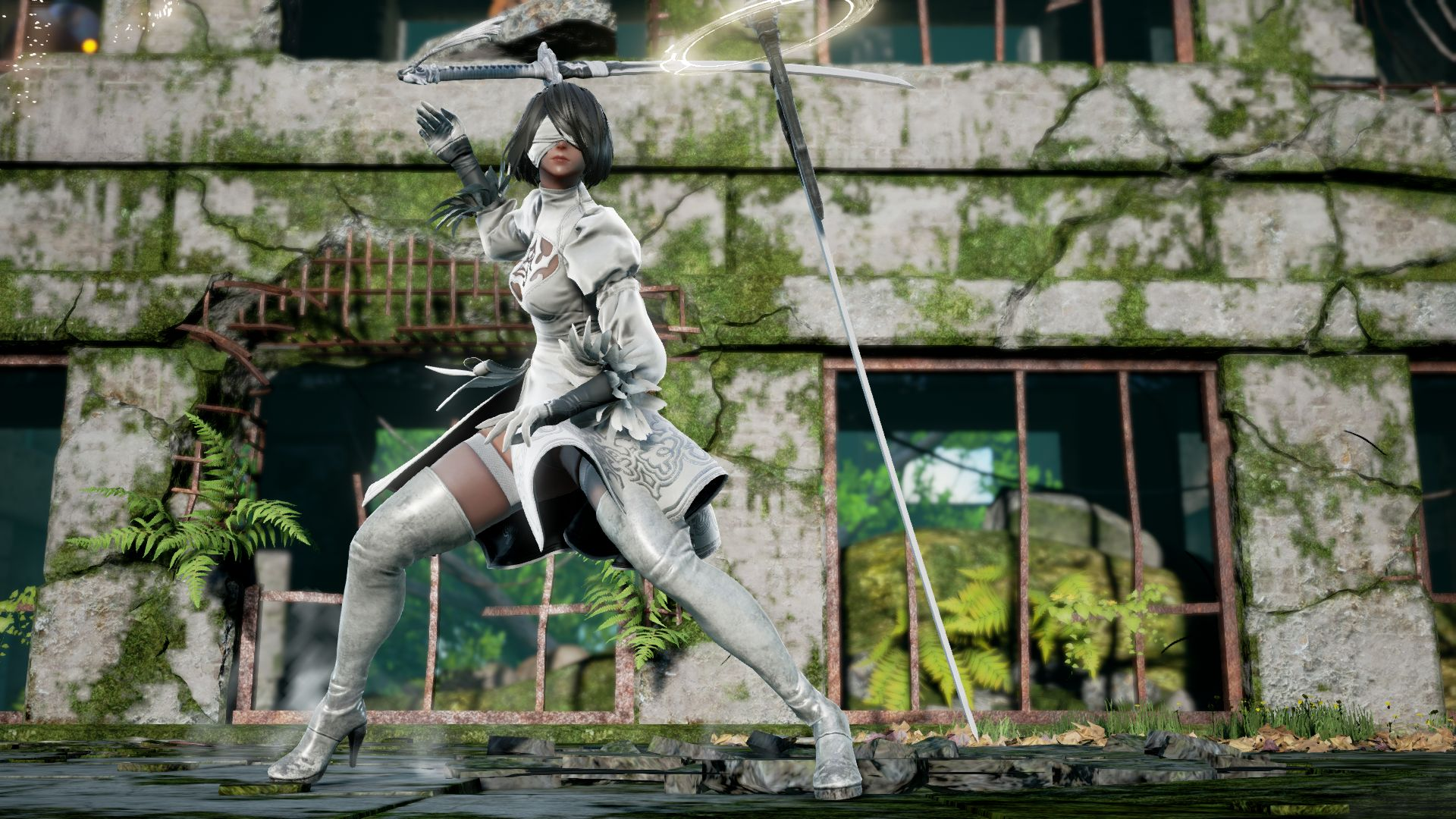 Premise Indicator Words: NieR: Automata's 2B Joins SoulCalibur VI As Guest