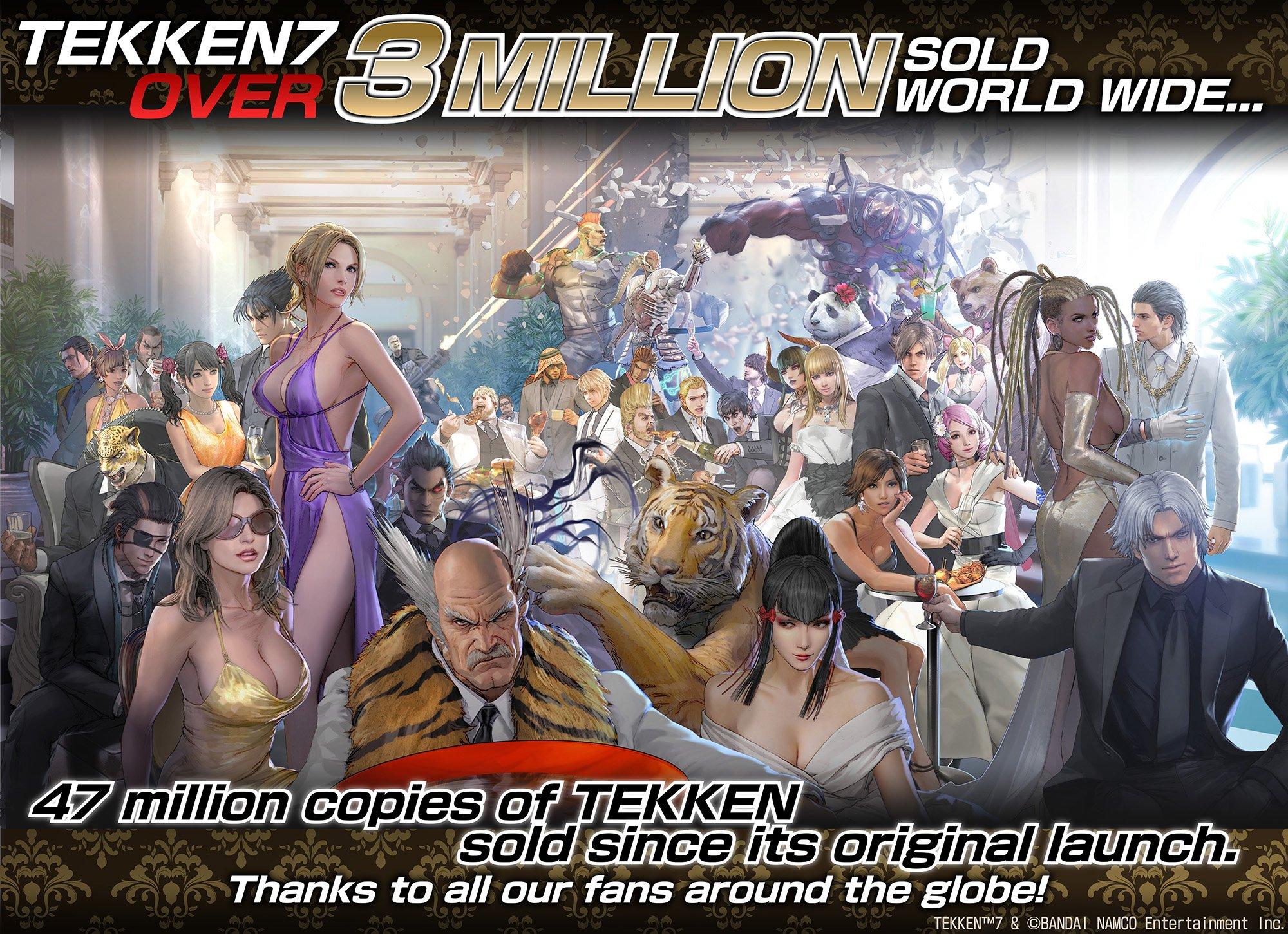 Tekken 7 - Other Artwork, Promotional Images, Logos, Scans, Etc
