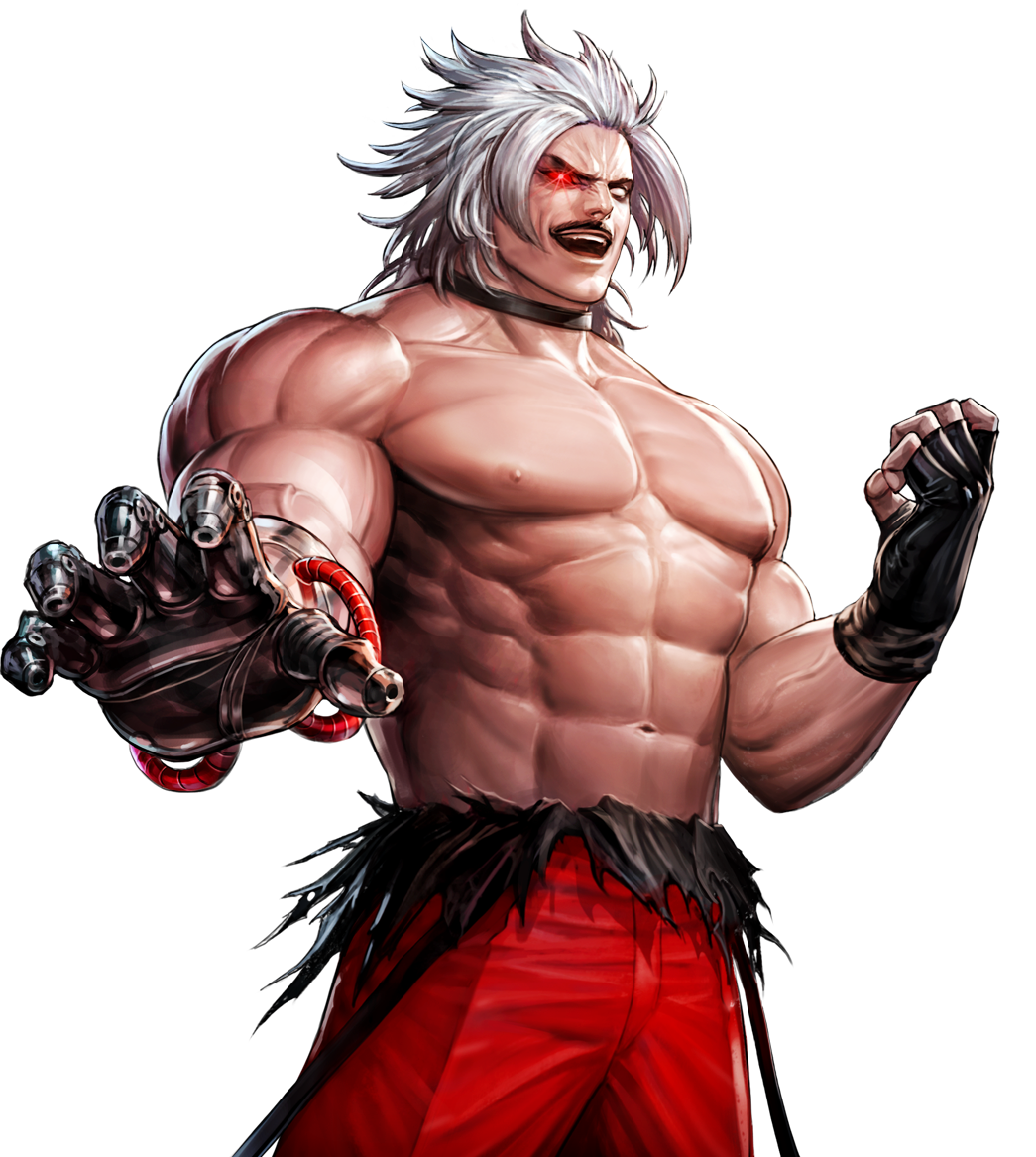 Omega Rugal God Rugal King Of Fighters Cvs2