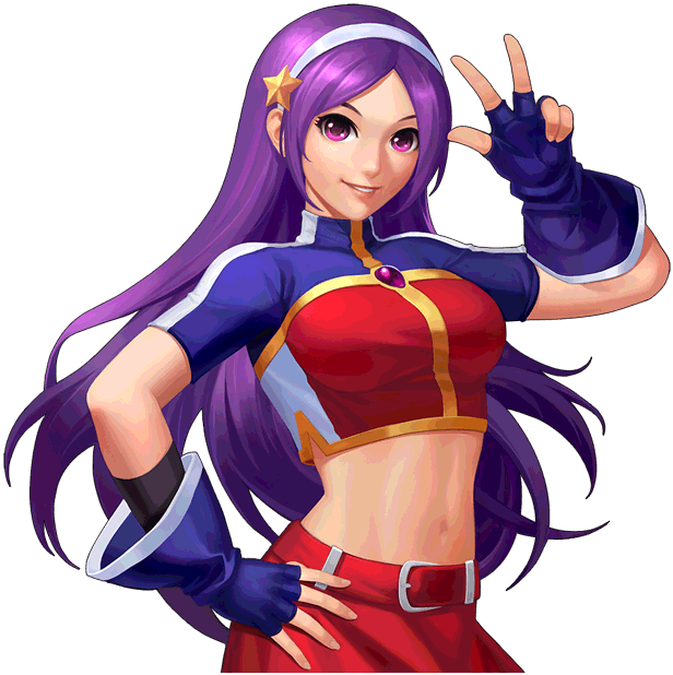 Athena Asamiya The King Of Fighters