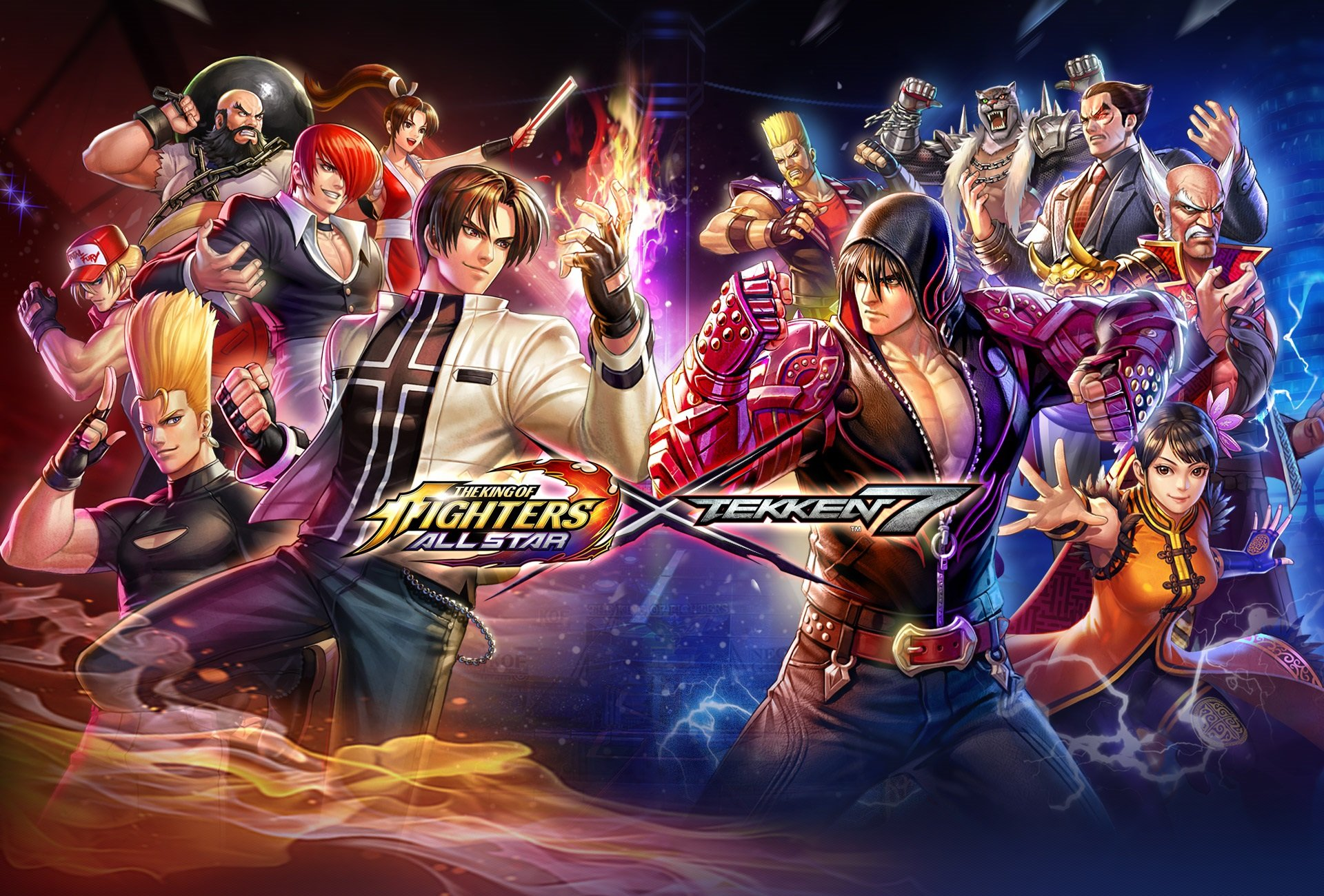 The King Of Fighters All Star X Tekken 7 Crossover Event Begins