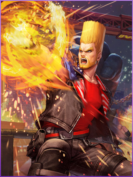 The King of Fighters All Star x TEKKEN 7 Crossover