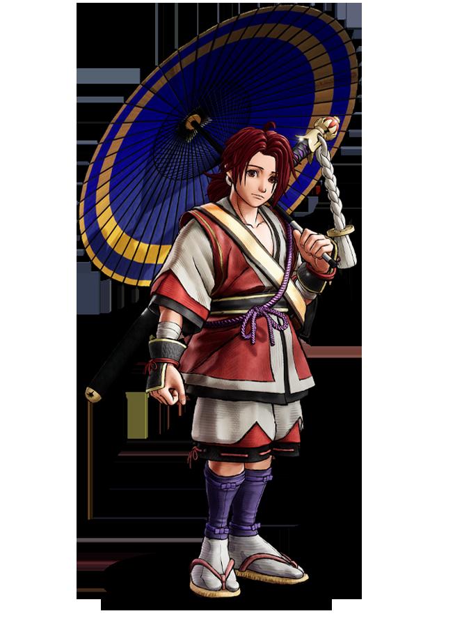 New Samurai Shodown 2019 Character Artwork for Basara