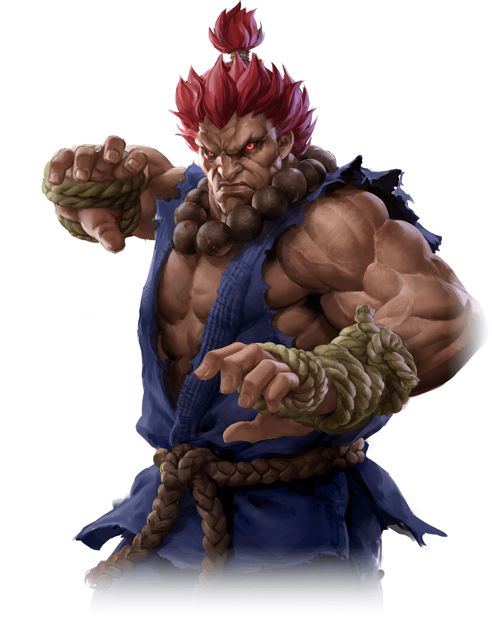 Akuma Gouki Street Fighter Art Gallery