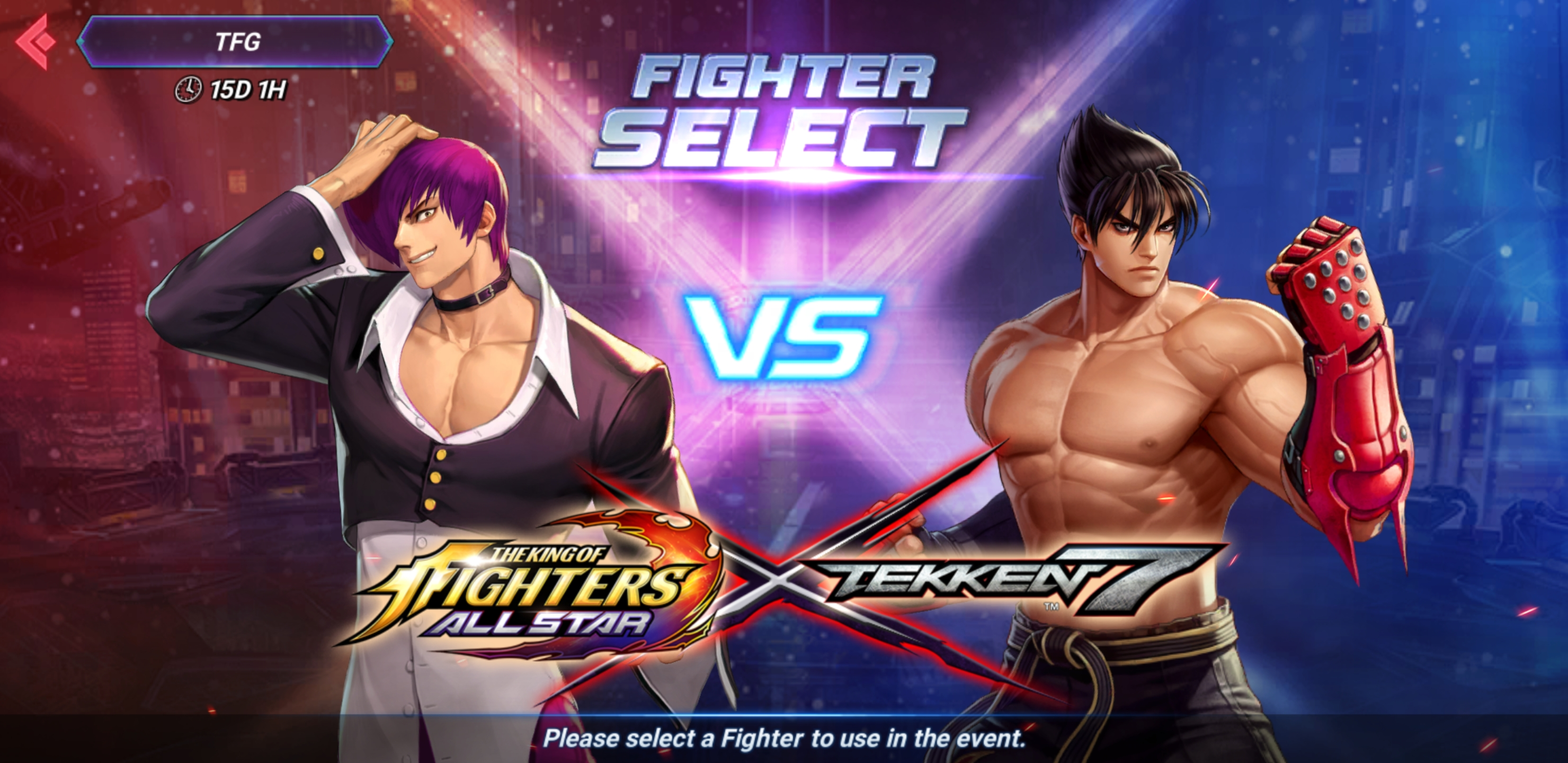 The King Of Fighters All Star X Tekken 7 Crossover Event Has