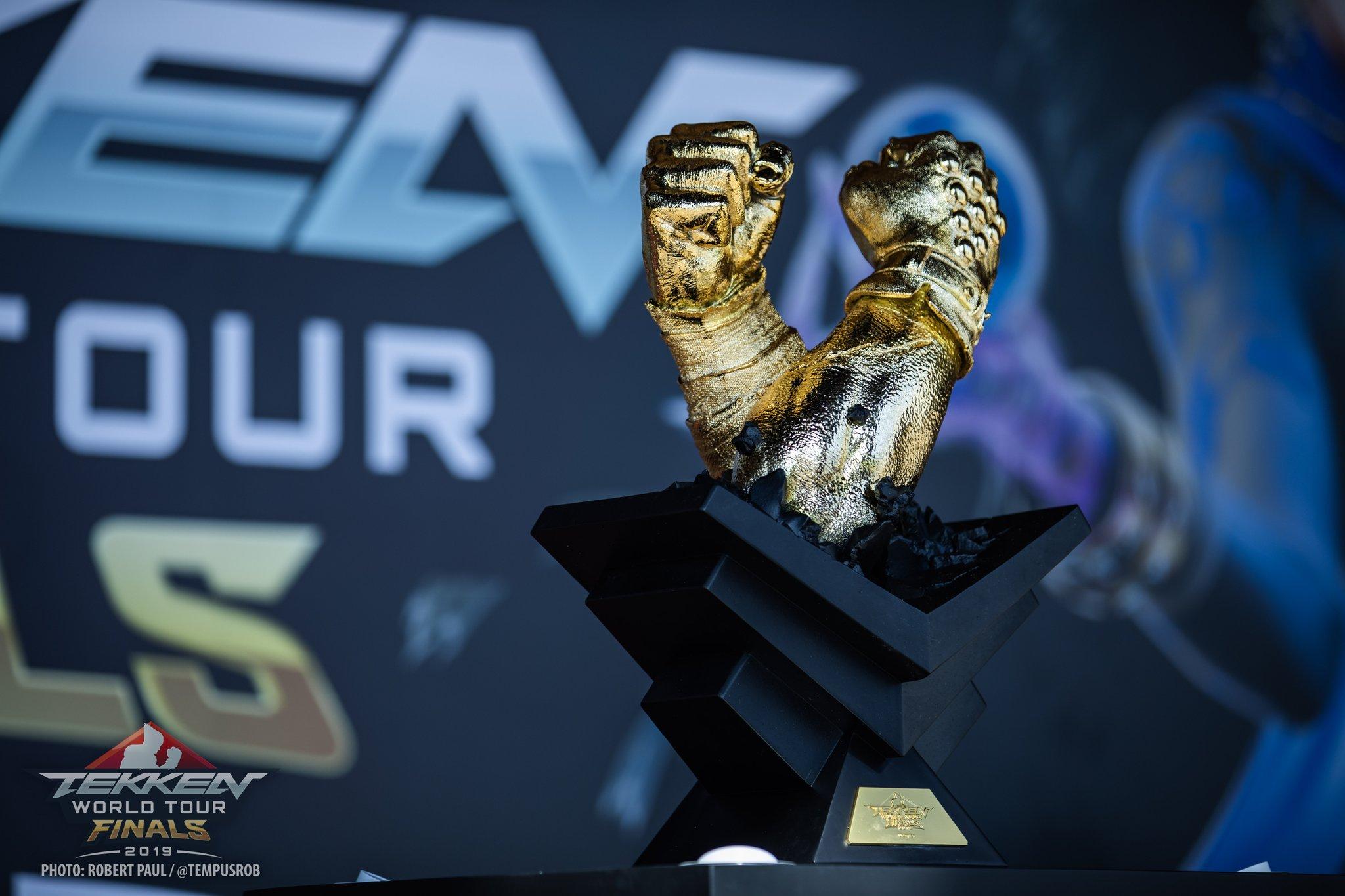 Tekken World Tour 2019 Finals Trophy Devil Jin Statue Designed By Pure Arts Limited