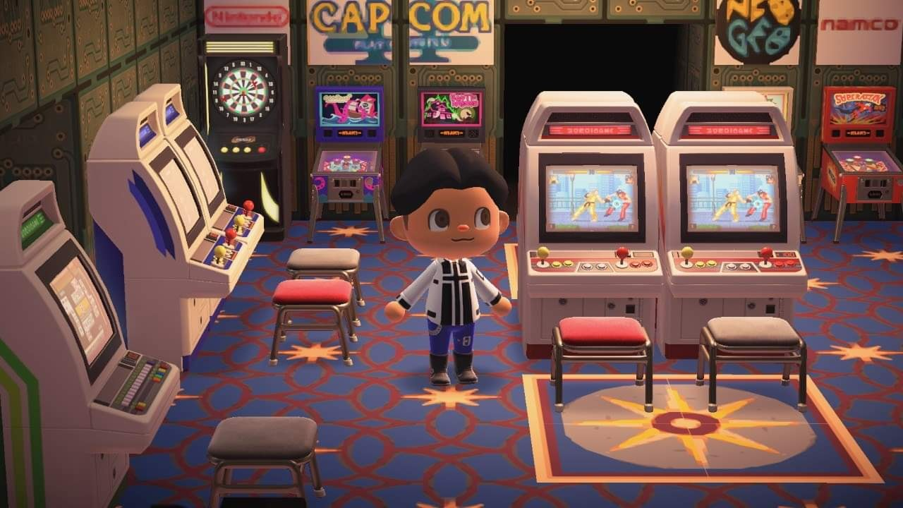 The Best Fighting Game Themed Creations for Animal ... on Animal Crossing Room Ideas New Horizons  id=47794