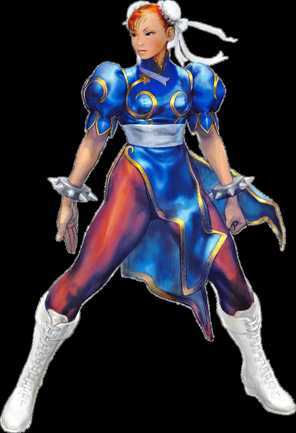 Chun Li Street Fighter Artwork Page 2