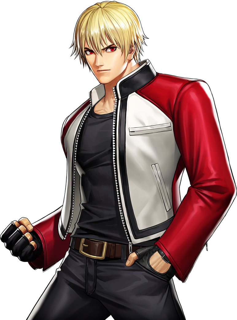 Rock Howard Kof – His official nickname is the wolf's pedigree (狼の血統, ōkami no kettō).