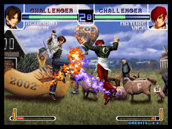 The King Of Fighters 2002 Tfg Review Art Gallery