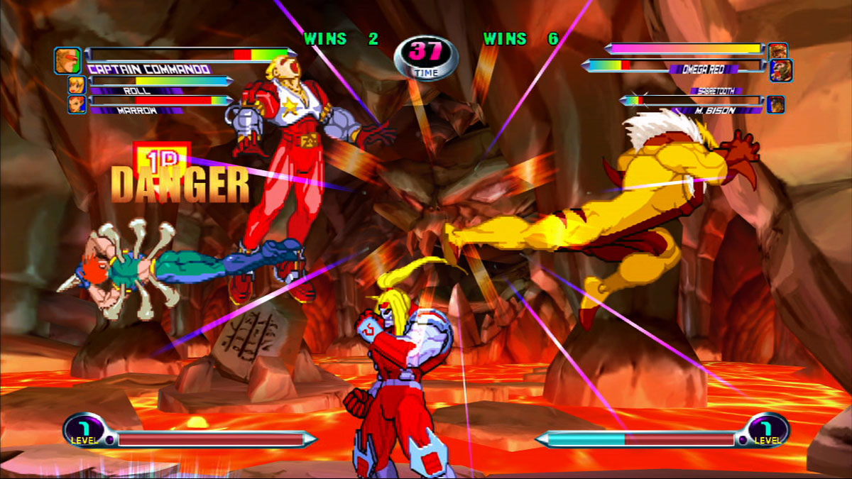Marvel VS Capcom 2: New Age of Heroes - TFG Review / Artwork