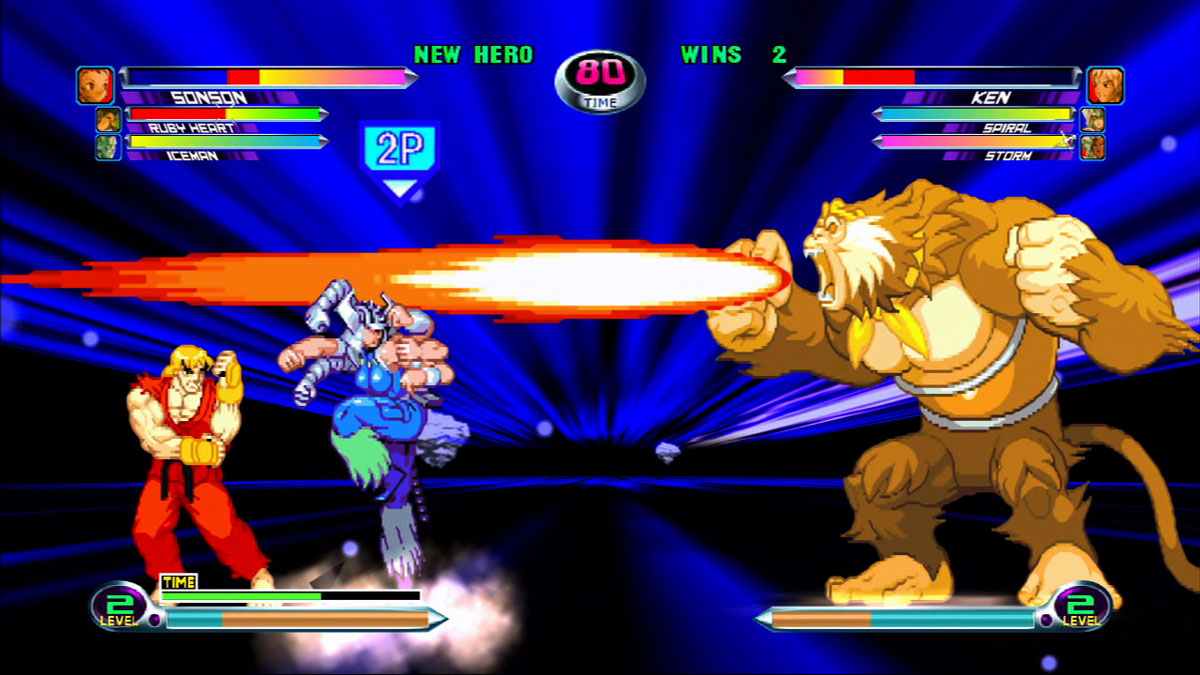 Marvel Vs Capcom 2 New Age Of Heroes Tfg Review Artwork Gallery