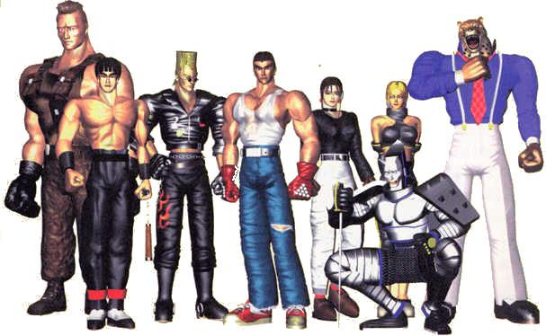 скачать Tekken 1 торрент - фото 5
