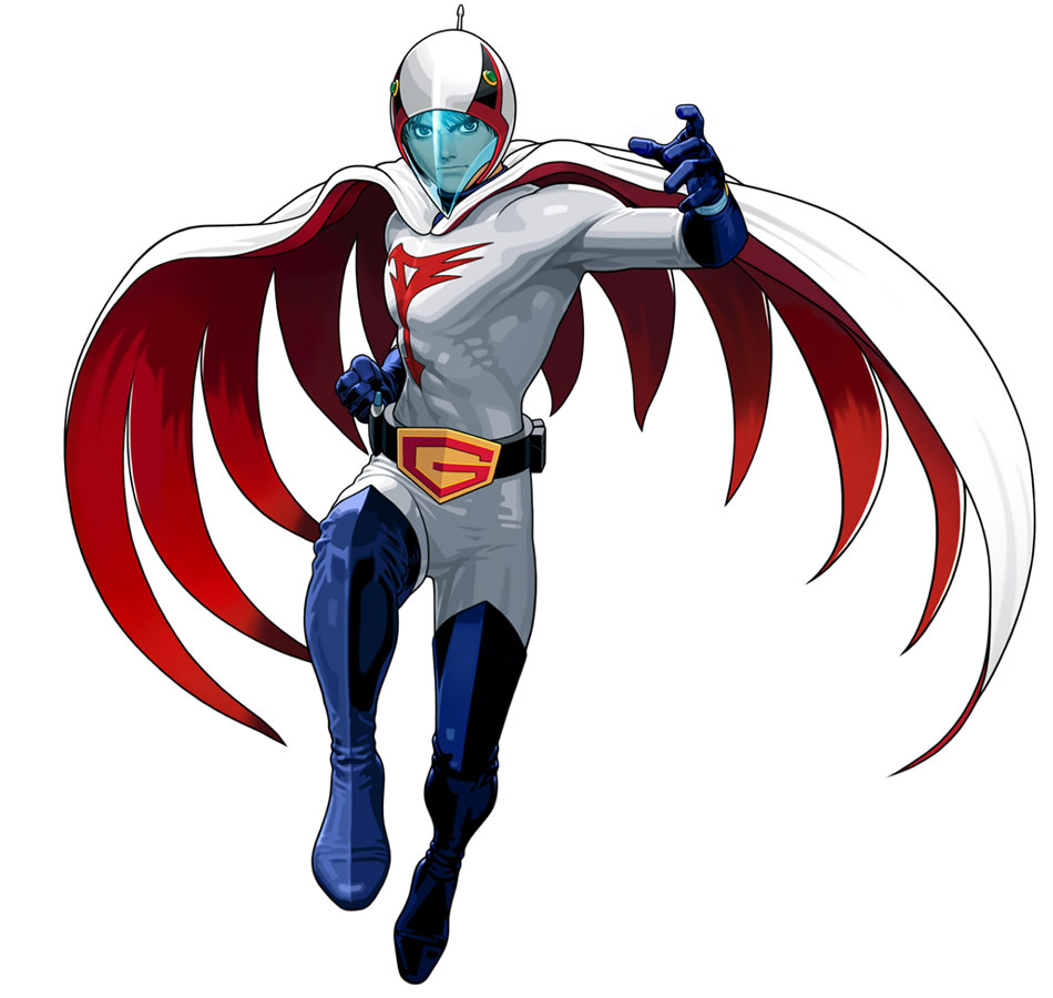 G Force Cartoon Characters : Ken the eagle tatsunoko vs capcom